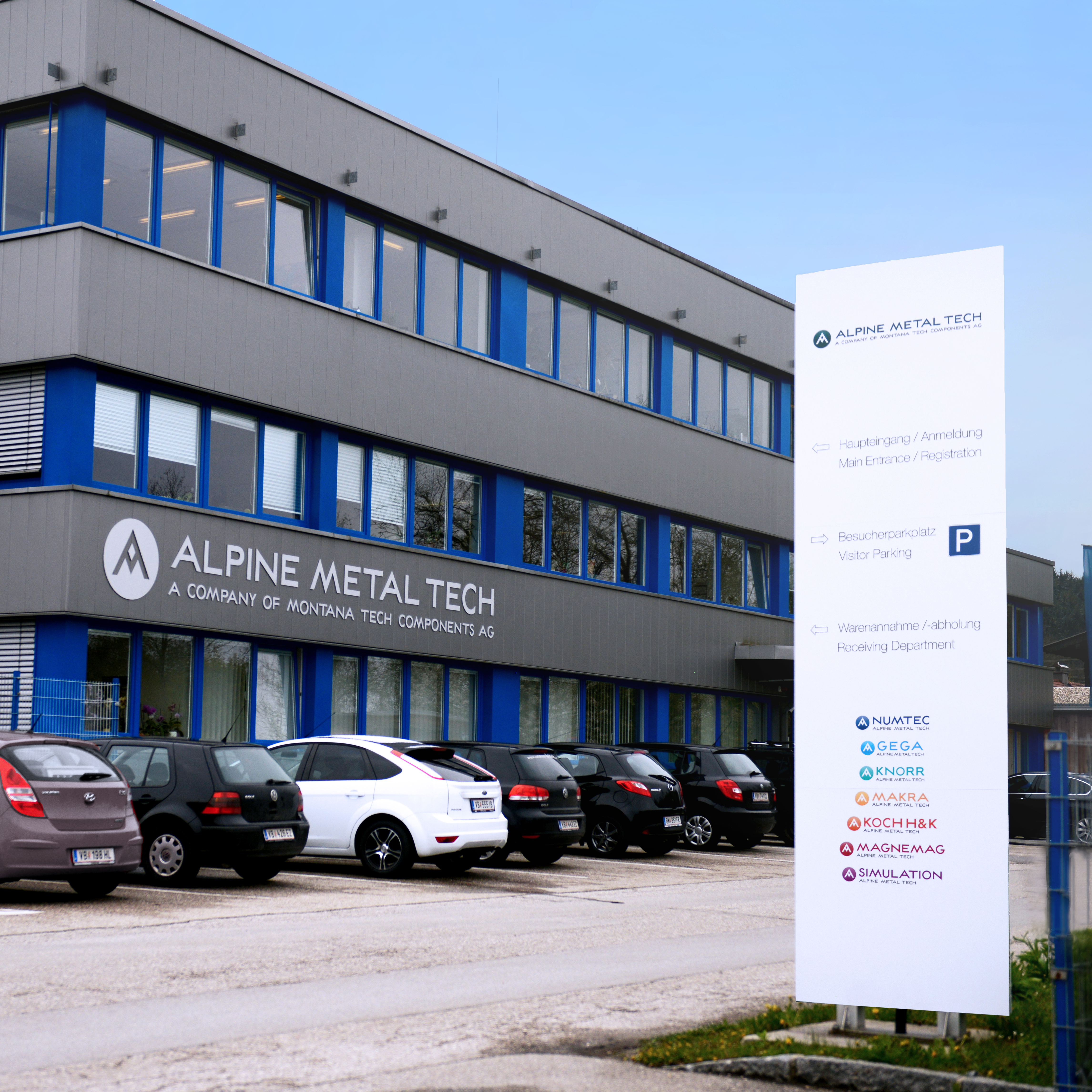 Alpine Metal Tech Headquarter Regau